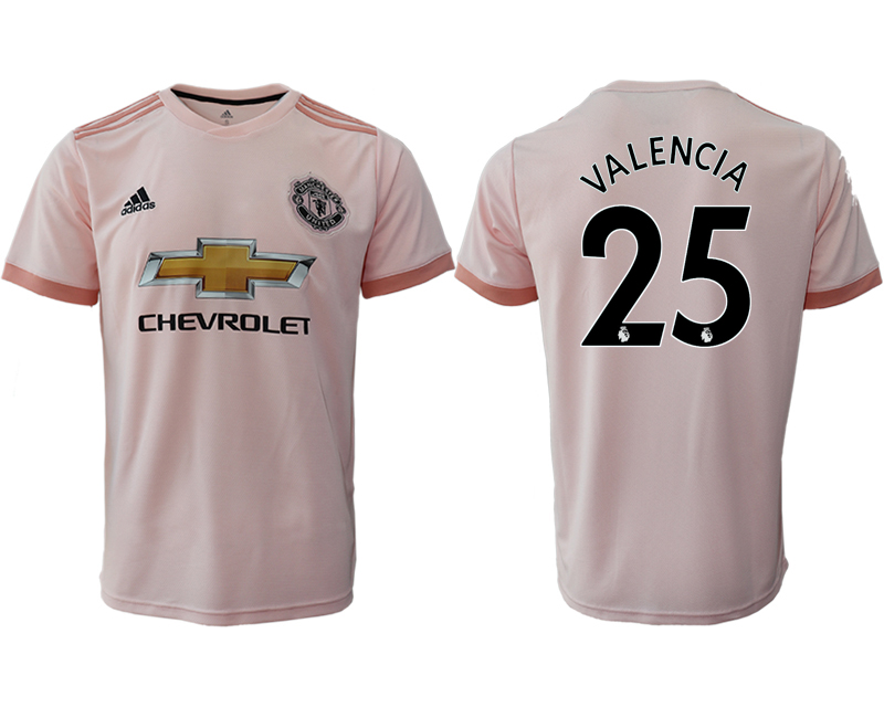 2018-19 Manchester United 25 VALENCIA Away Thailand Soccer Jersey
