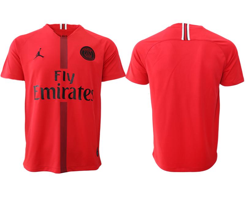 2018-19 Paris Saint-Germain Red Goalkeeper Thailand Soccer Jersey