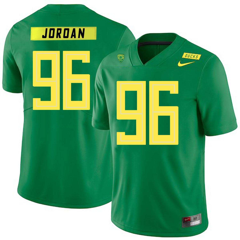 Oregon Ducks 96 Dion Jordan Apple Green Nike College Football Jersey