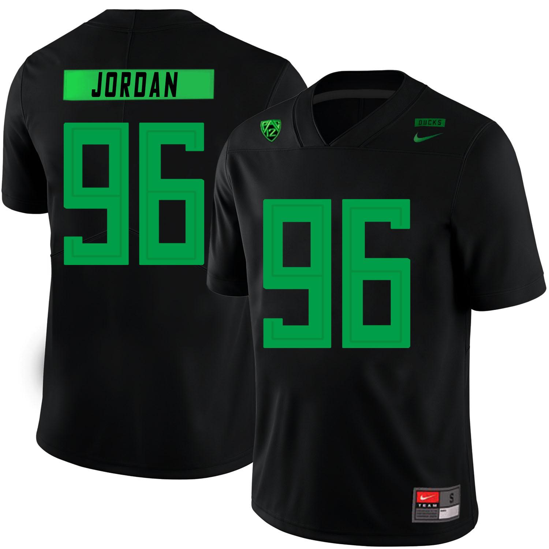 Oregon Ducks 96 Dion Jordan Black Nike College Football Jersey