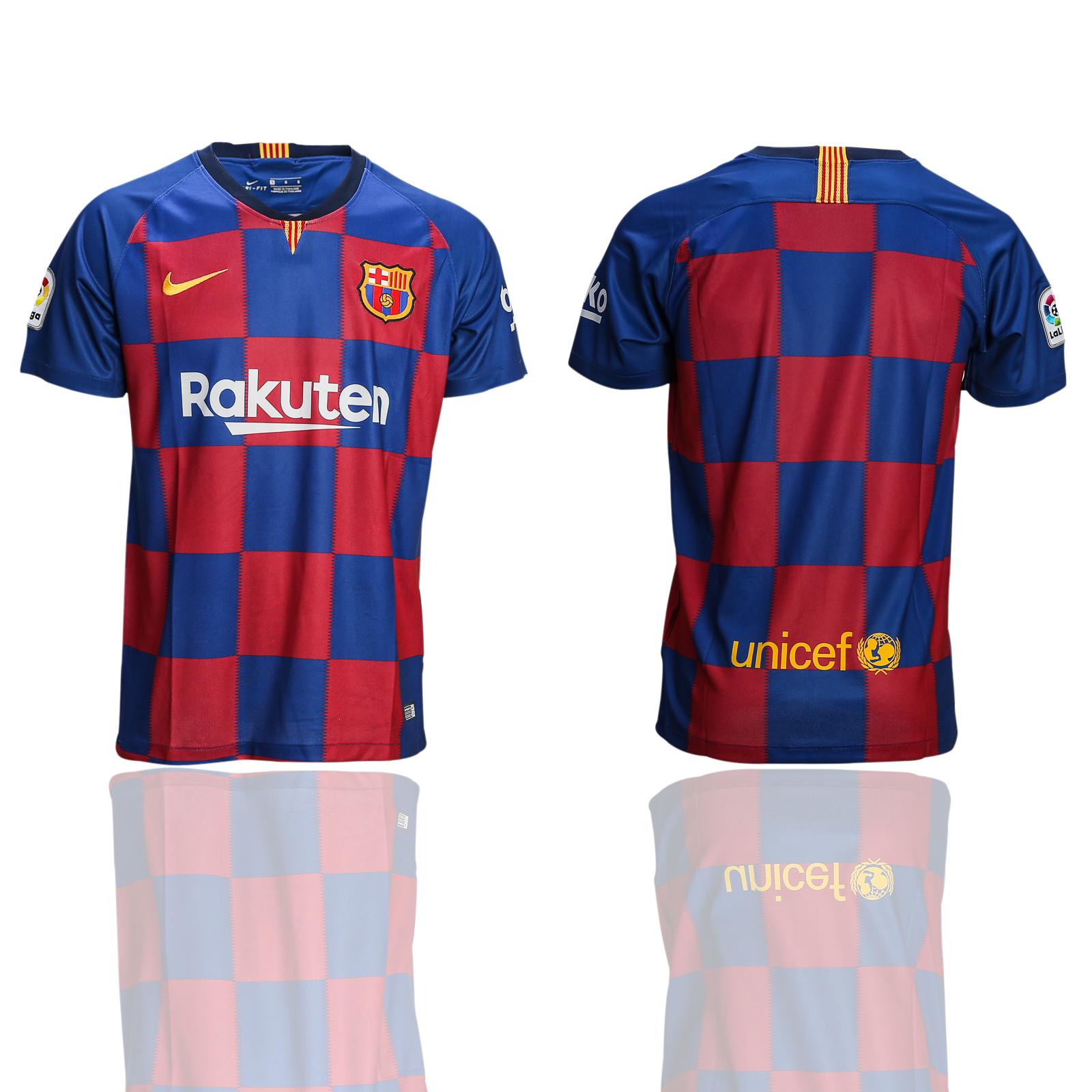 2018-19 Barcelona Home Training Thailand Soccer Jersey