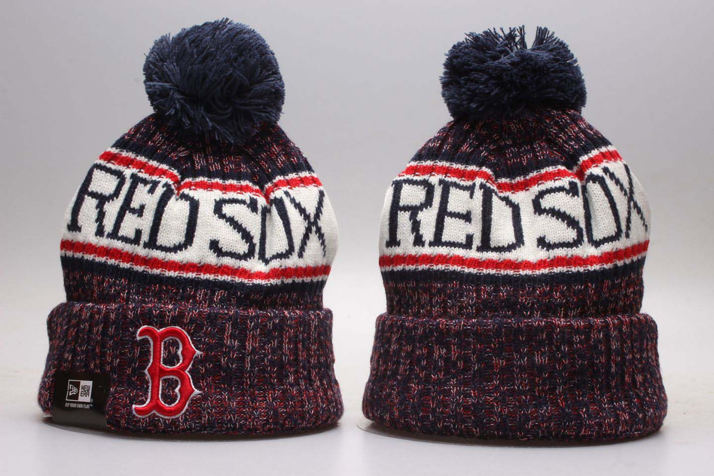 Red Sox Fresh Logo Red Knit Hat YP