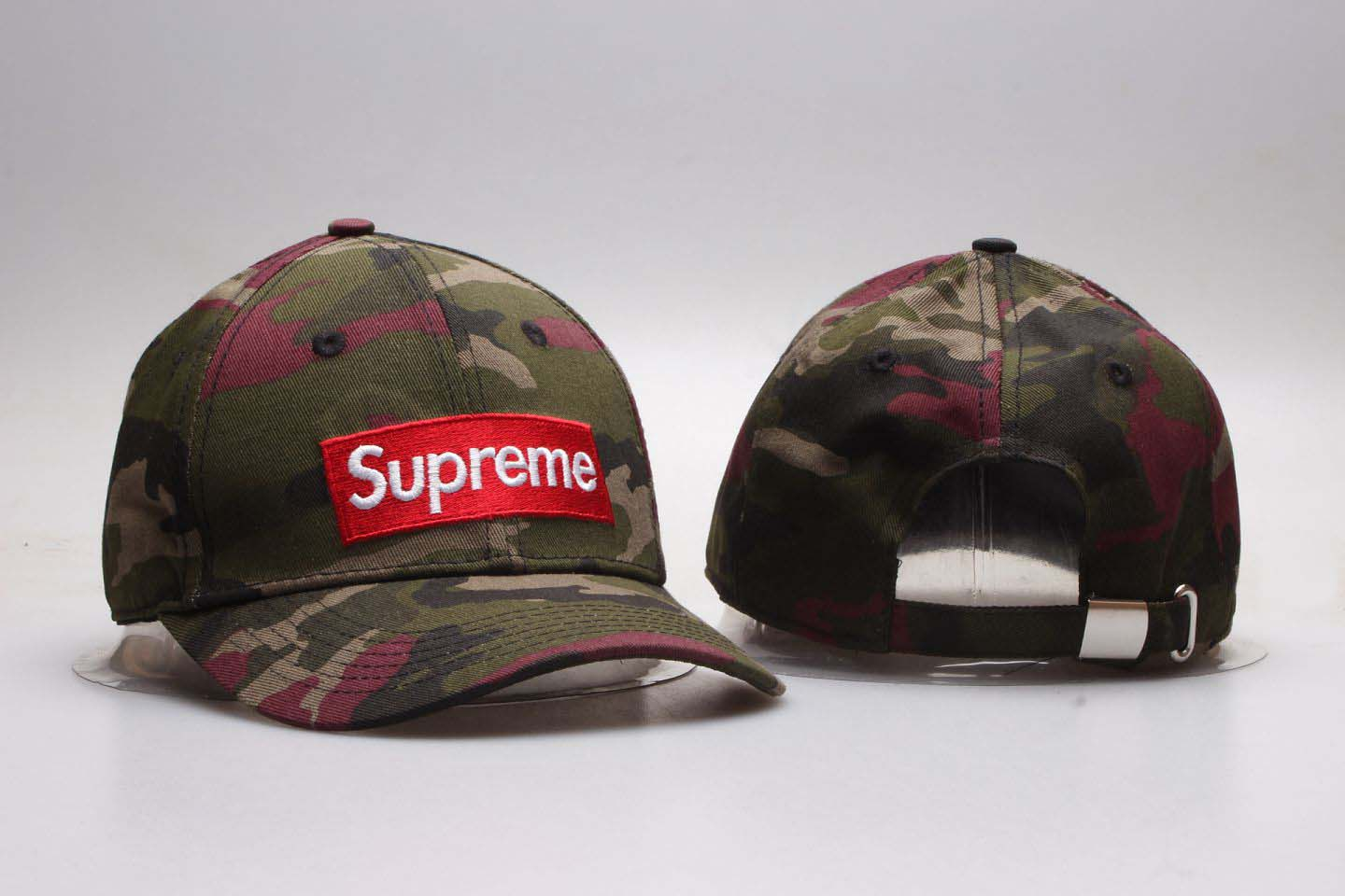 Supreme Fresh Big Logo Camo Snapback Adjustable Hat YP