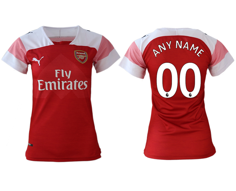 2018-19 Arsenal Home Women Customized Soccer Jersey
