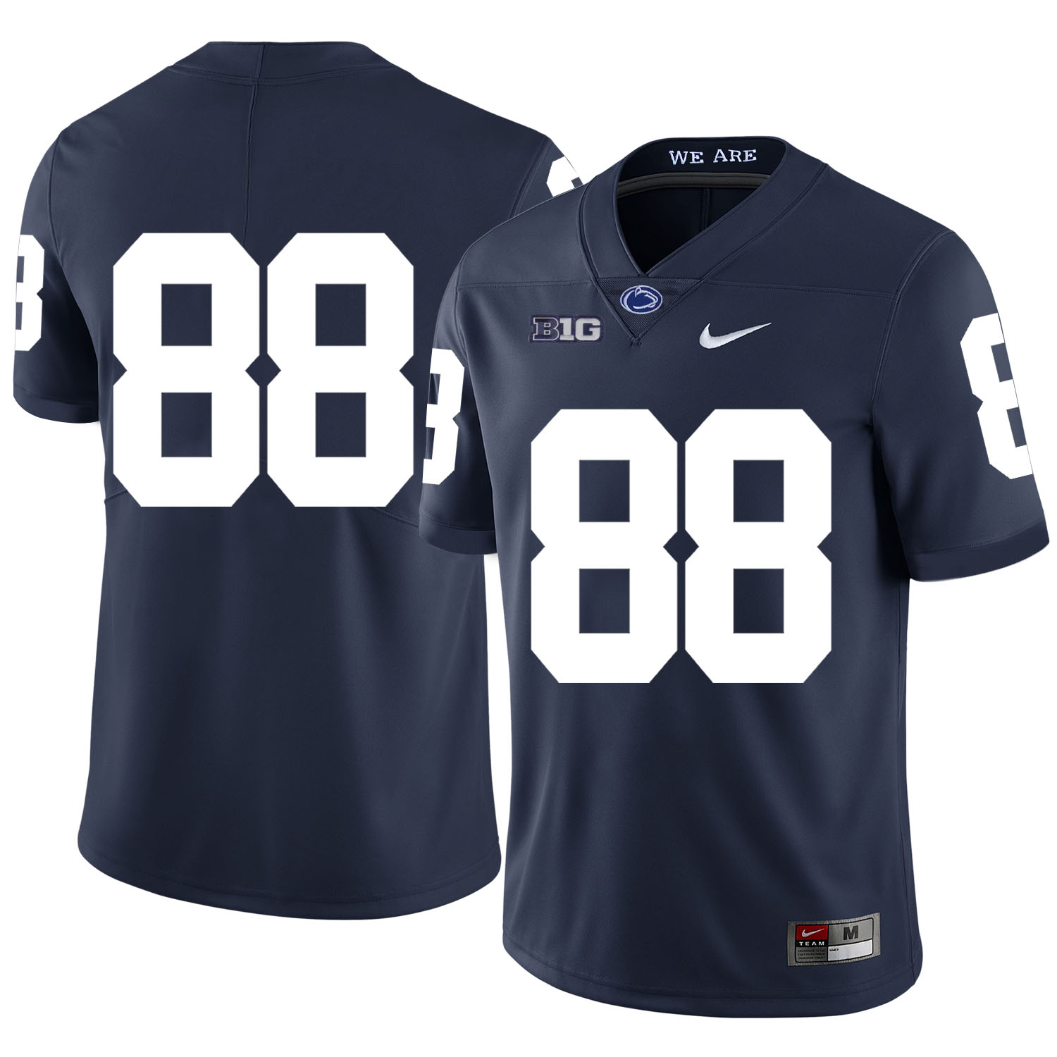 Penn State Nittany Lions 88 Mike Gesicki Navy Nike College Football Jersey