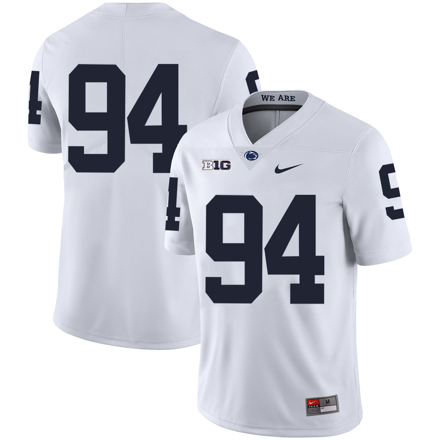 Penn State Nittany Lions 94 Cameron Wake White Nike College Football Jersey