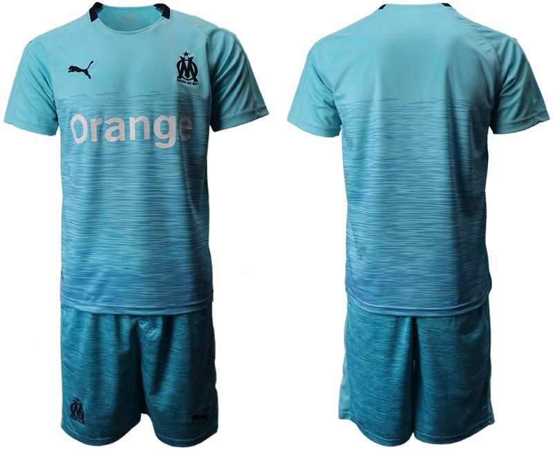 2018-19 Marseille Away Soccer Jersey
