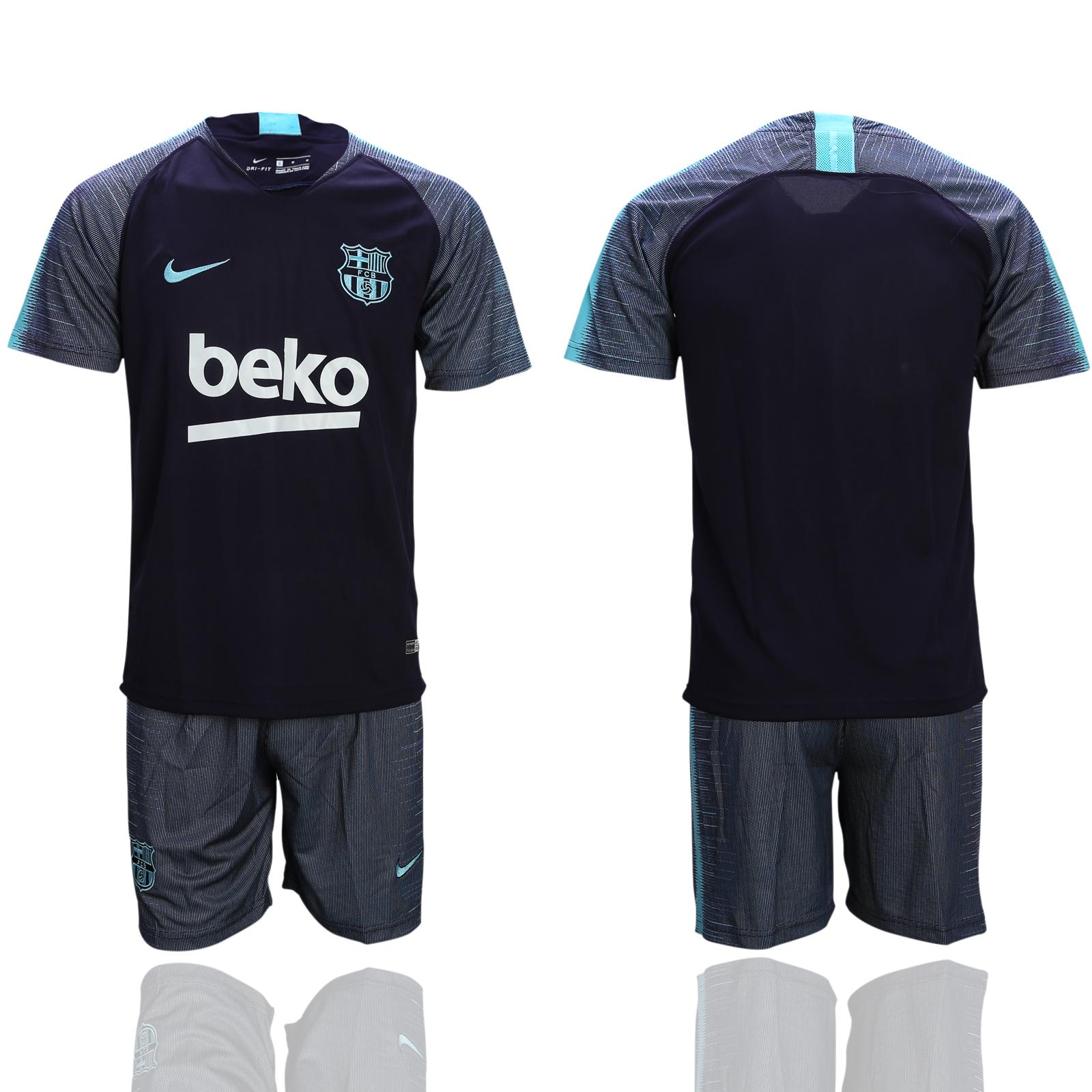 2018-19 Barcelona Black Training Jersey