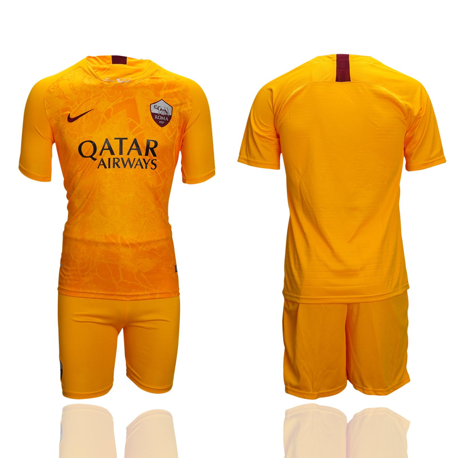 2018-19 Roma Third Away Soccer Jersey