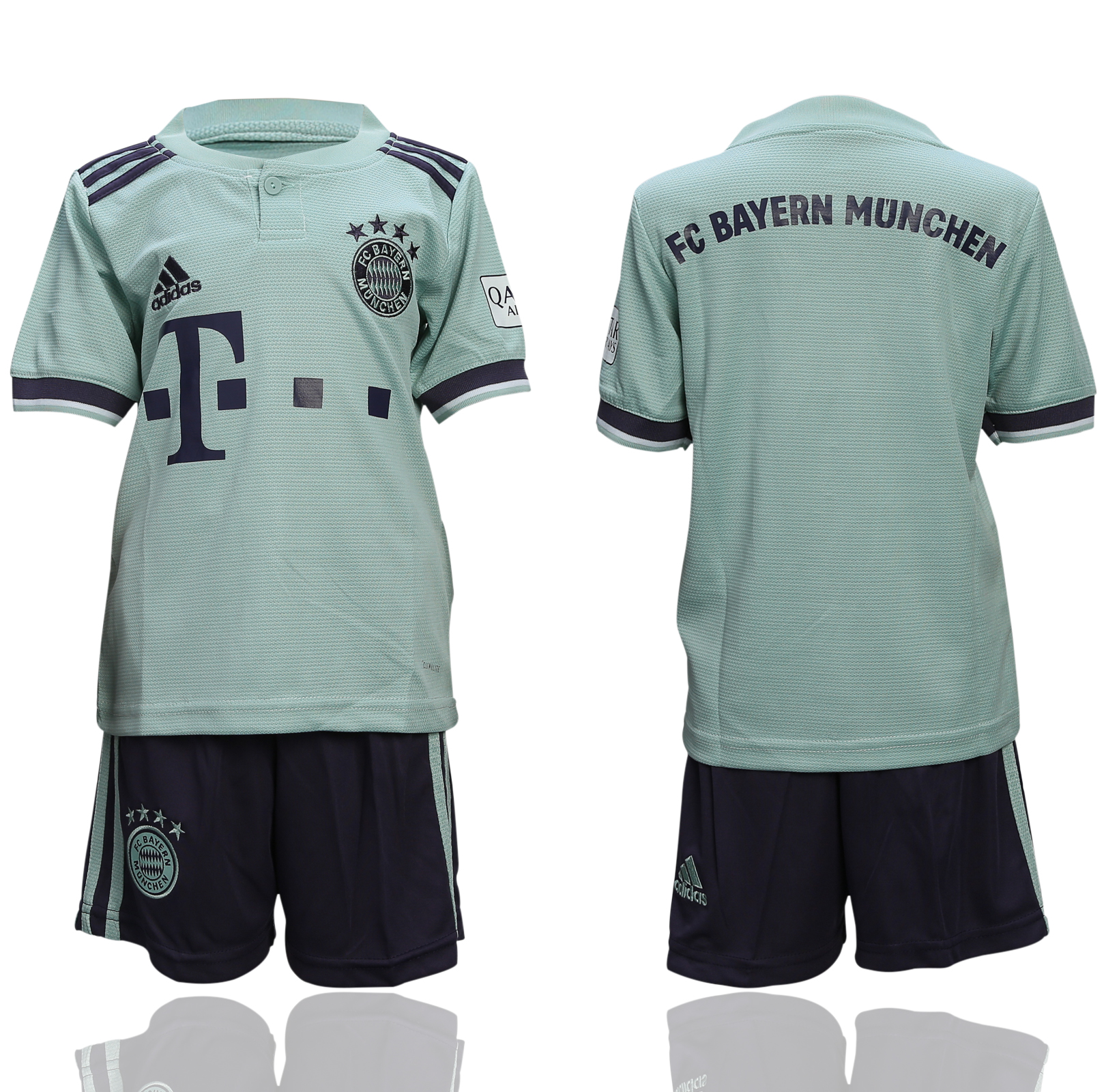 2018-19 Bayern Munich Away Youth Soccer Jersey