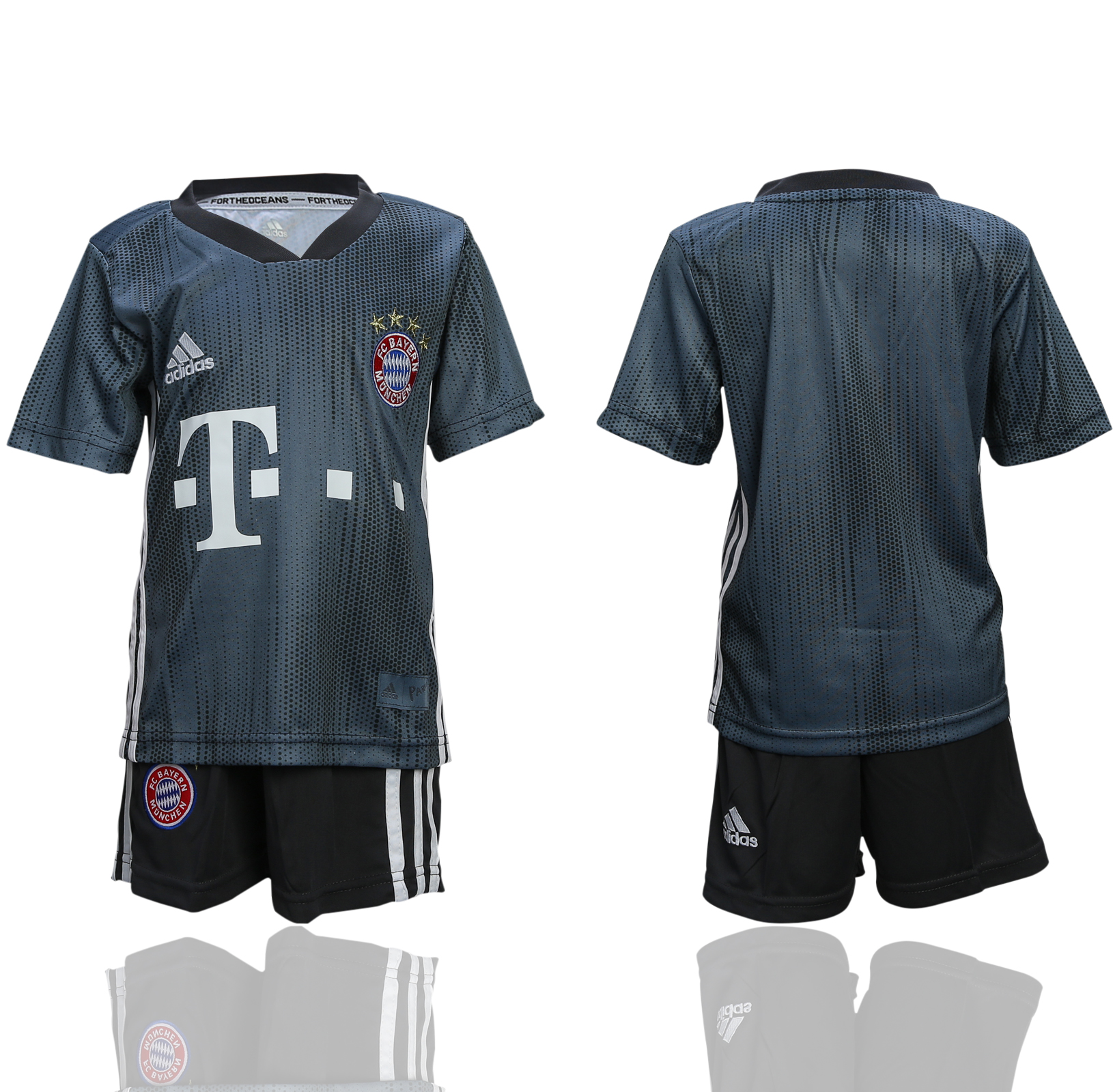 2018-19 Bayern Munich Third Away Youth Soccer Jersey
