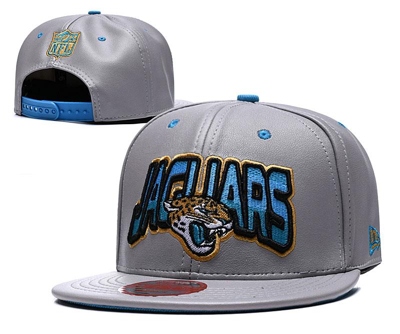 Jaguars Retro Gray Adjustable Hat TX