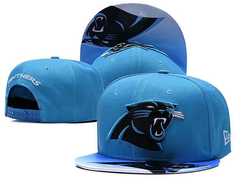 Panthers Fresh Logo Blue Adjustable Hat TX