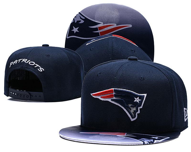 Patriots Fresh Logo Navy Adjustable Hat TX