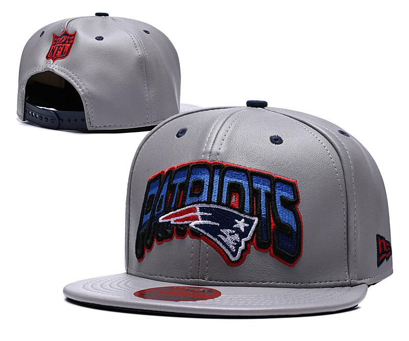 Patriots Retro Gray Adjustable Hat TX