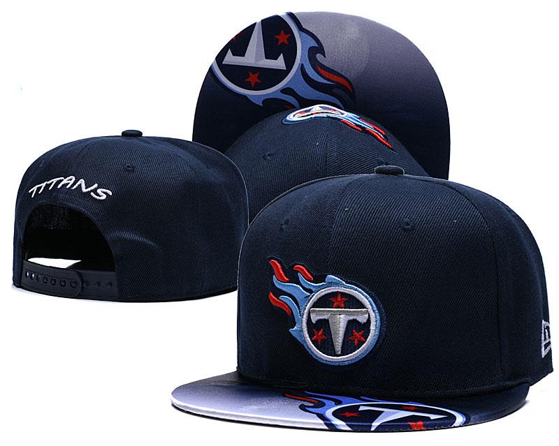 Titans Fresh Logo Navy Adjustable Hat TX