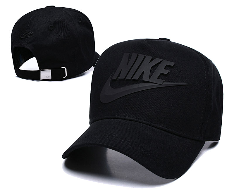 Nike Classic Black Peaked Adjustable Hat TX