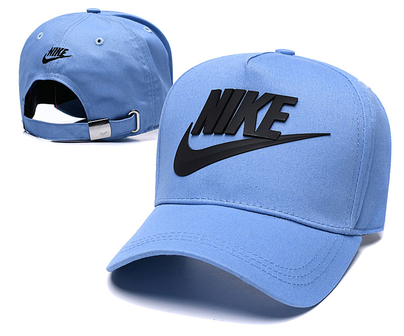 Nike Classic Blue Peaked Adjustable Hat TX