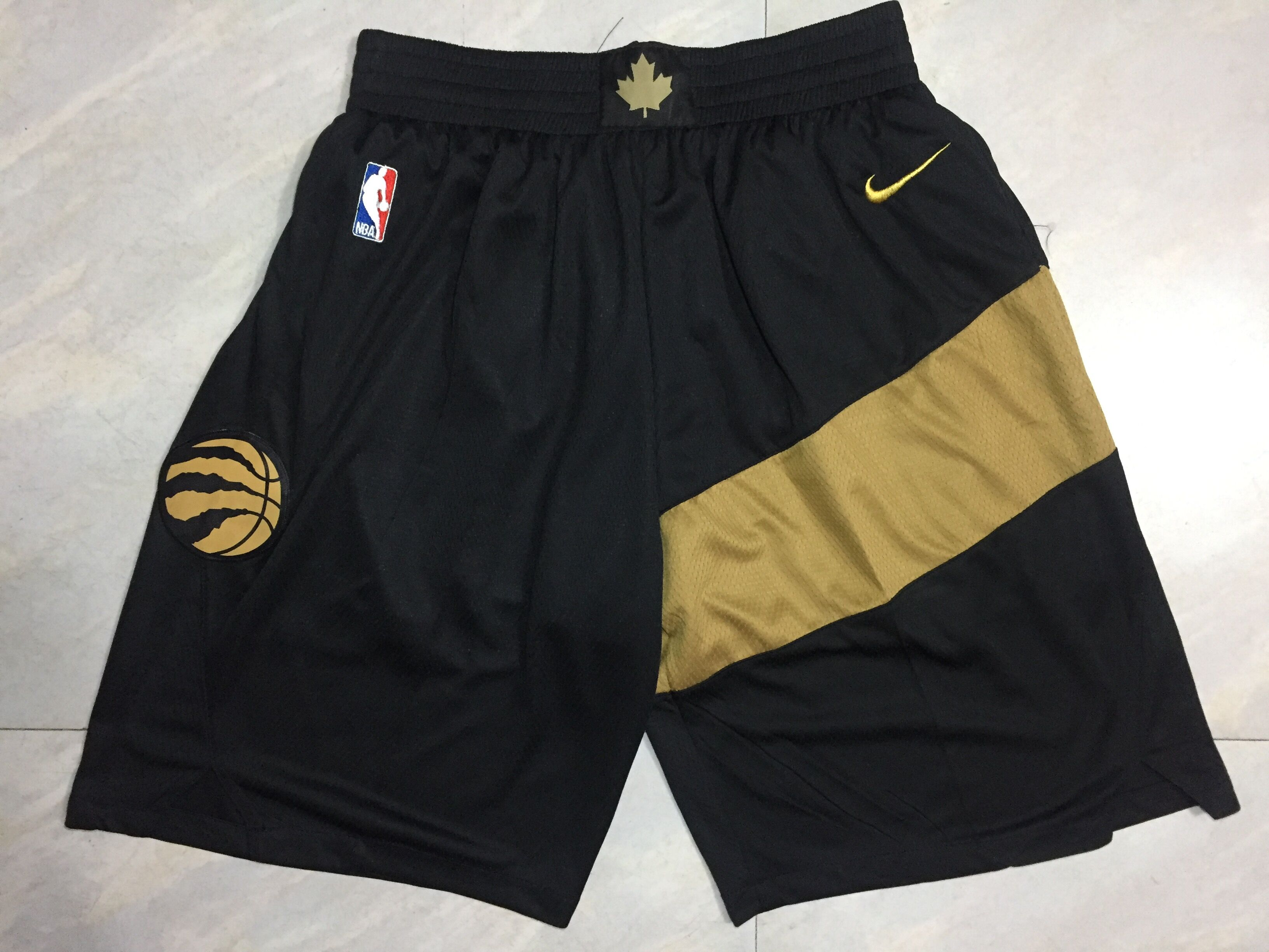 Raptors Black 2018-19 City Edition Shorts