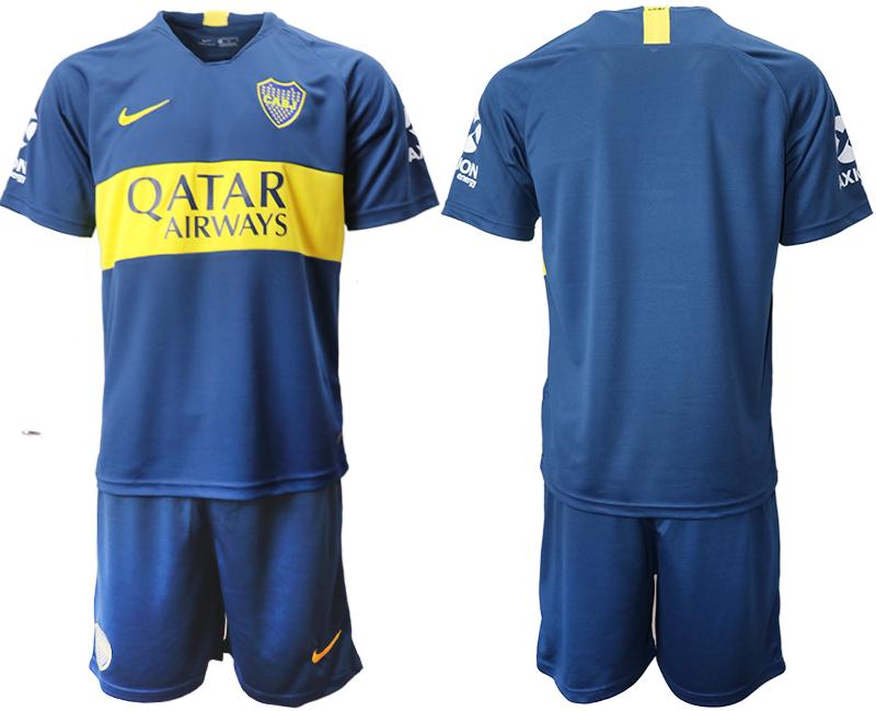 2018-19 Boca Juniors Home Soccer Jersey