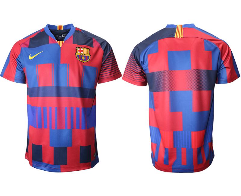 2018-19 Barcelona 20th Anniversary Stadium Soccer Jersey
