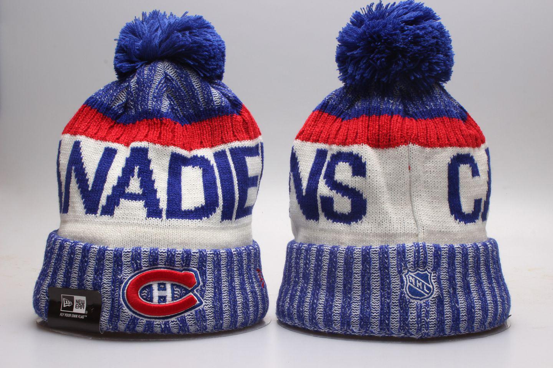 Canadiens Team Logo Knit Hat