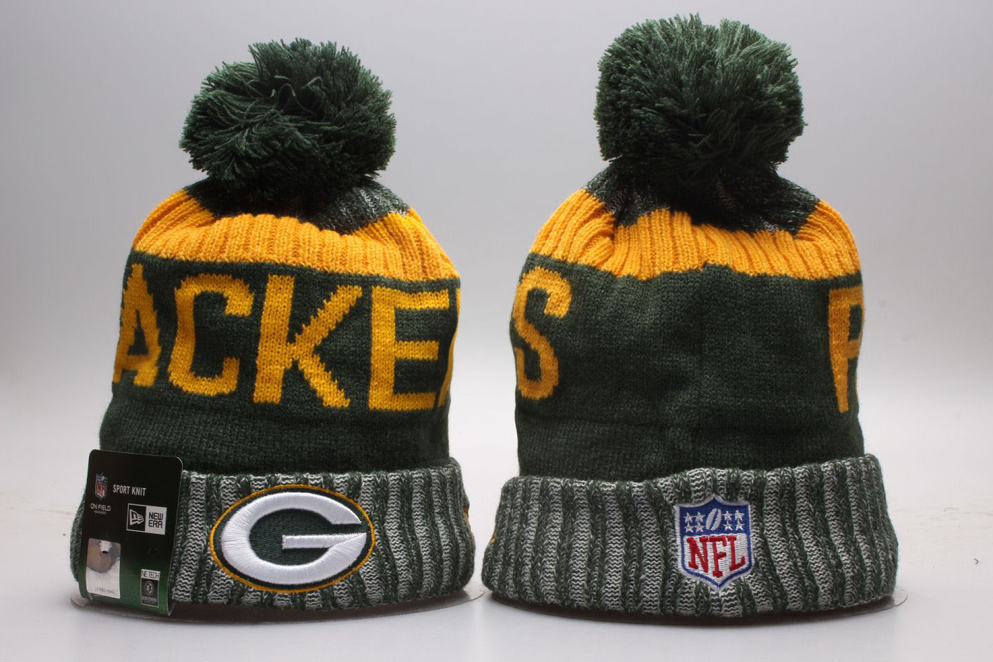 Packers Team Logo Knit Hat
