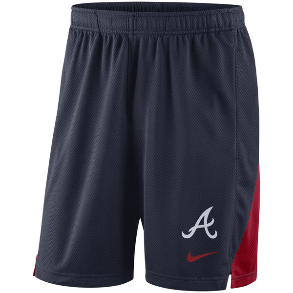Men's Atlanta Braves Nike Navy Franchise Performance Shorts