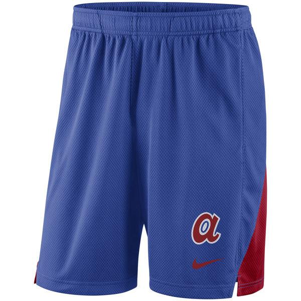 Men's Atlanta Braves Nike Royal Franchise Performance Shorts