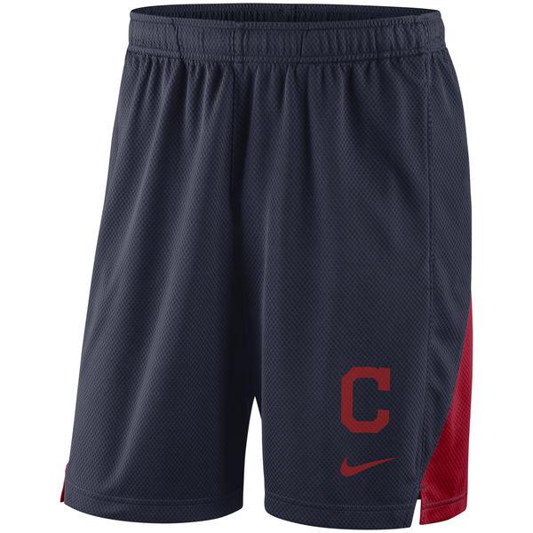 Men's Cleveland Indians Nike Navy Franchise Performance Shorts