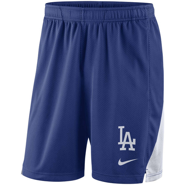 Men's Los Angeles Dodgers Nike Royal Franchise Performance Shorts