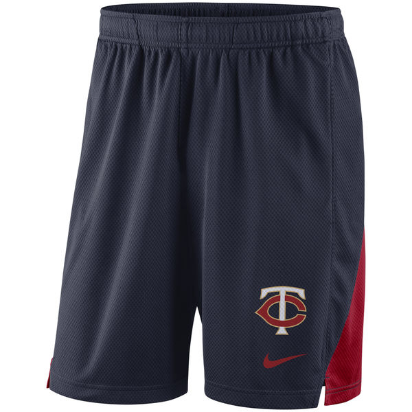 Men's Minnesota Twins Nike Navy Franchise Performance Shorts
