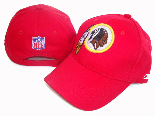 Redskins Team Logo Fitted Hat XDF
