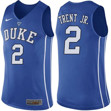 Duke Blue Devils 2 Gary Trent Jr. Blue College Basketball Jersey