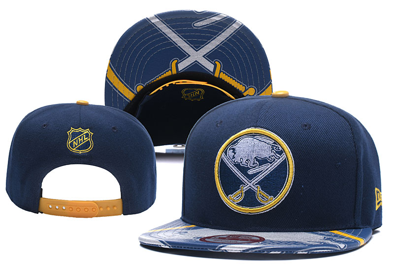 Sabres Team Logo Navy Adjustable Hat YD