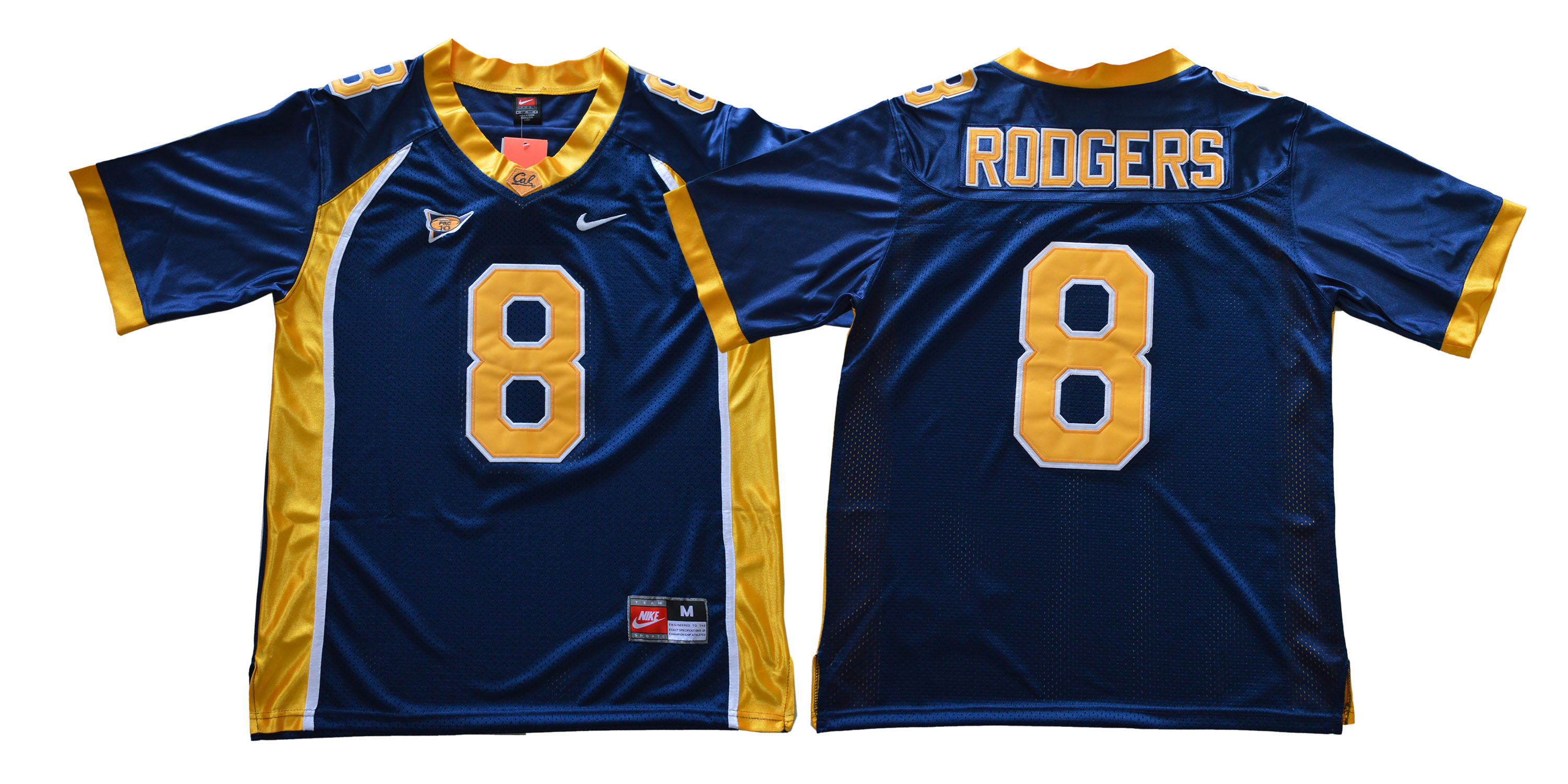 California Golden Bears 8 Aaron Rodgers Navy College Football Jersey