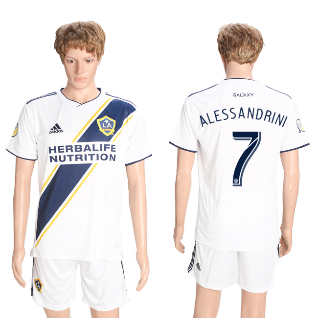 2018-19 Los Angeles Galaxy 7 ALESSANDRINI Home Soccer Jersey