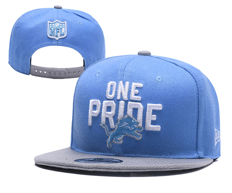 Lions One Pride Light Blue Adjustable Hat YD