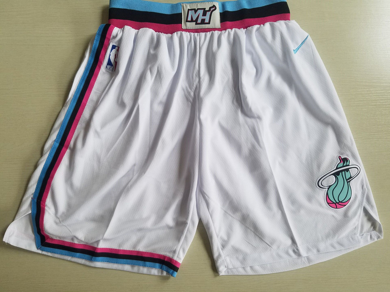 Heat White City Edition Nike Swingman Shorts