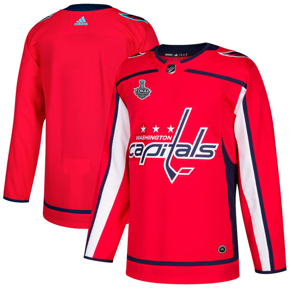 Capitals Blank Red 2018 Stanley Cup Final Bound Adidas Jersey