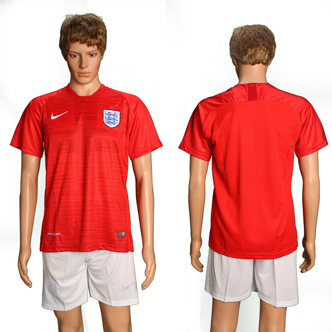 England Away 2018 FIFA World Cup Soccer Jersey