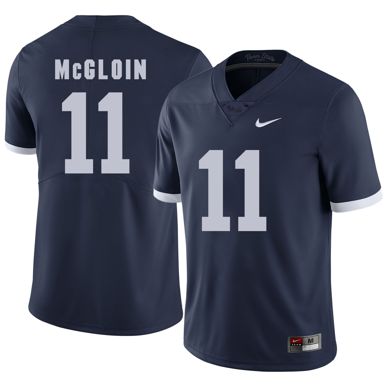 Penn State Nittany Lions 11 Matthew McGloin Navy College Football Jersey