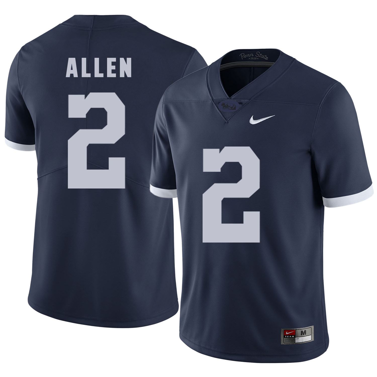 Penn State Nittany Lions 2 Marcus Allen Navy College Football Jersey