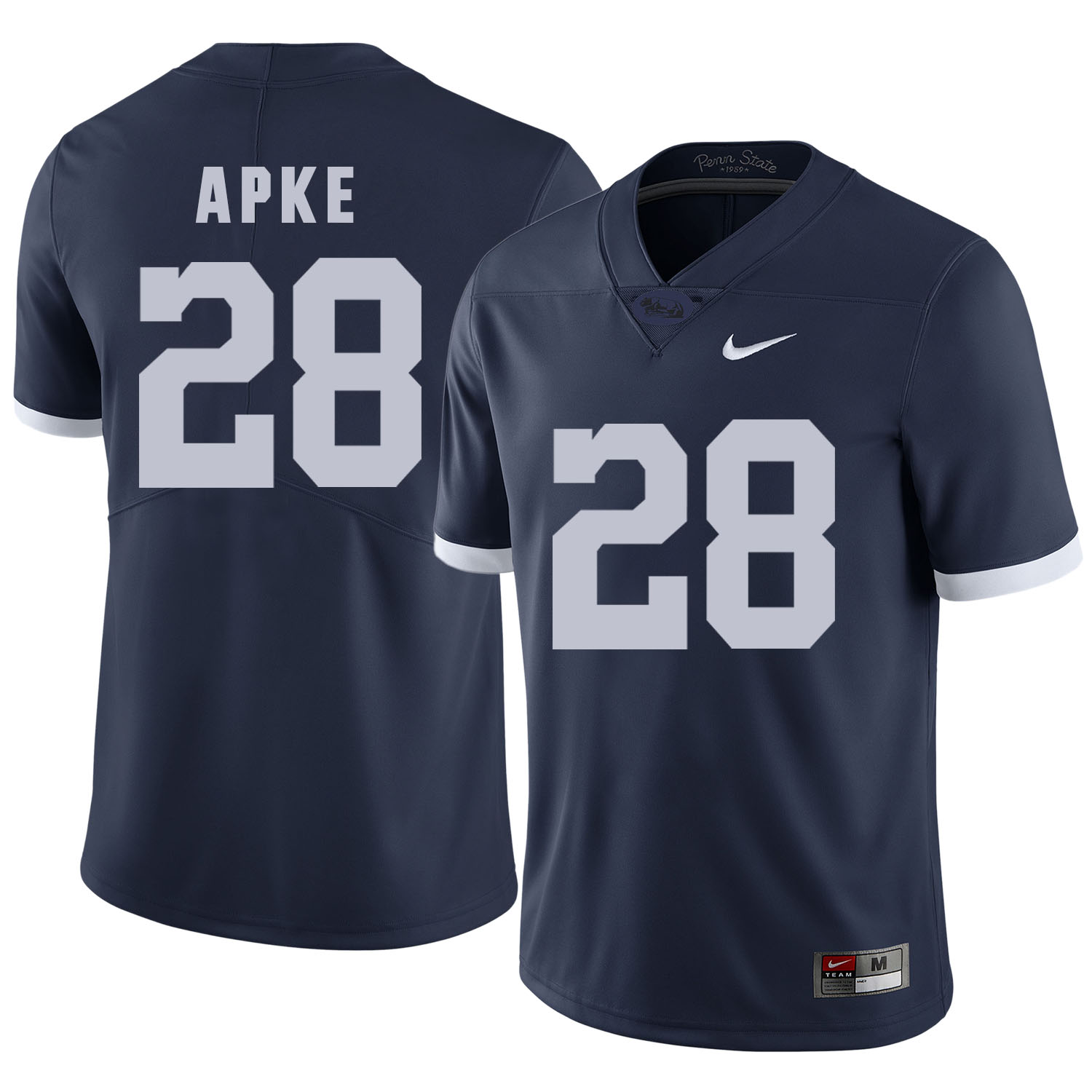 Penn State Nittany Lions 28 Troy Apke Navy College Football Jersey