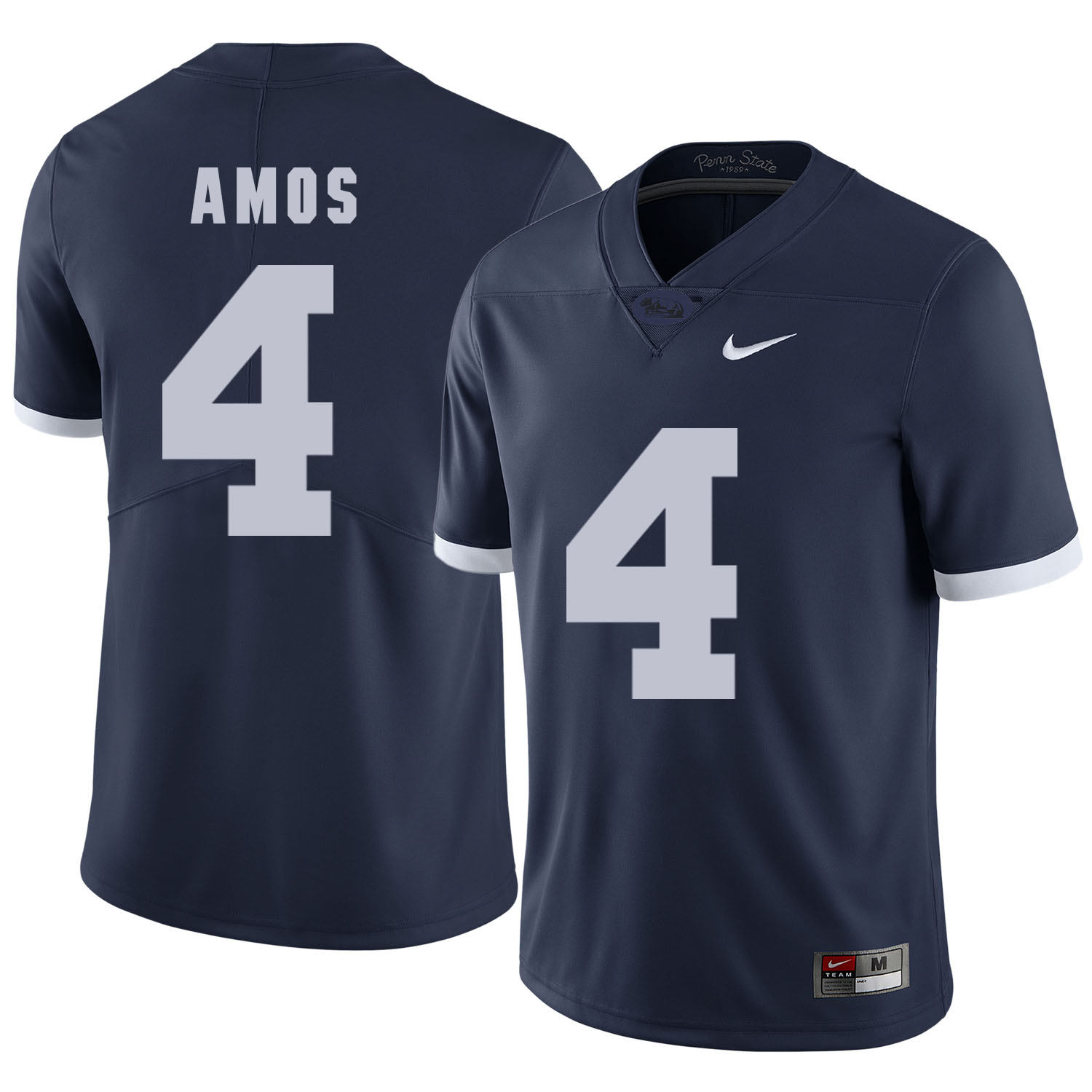 Penn State Nittany Lions 4 Adrian Amos Navy College Football Jersey