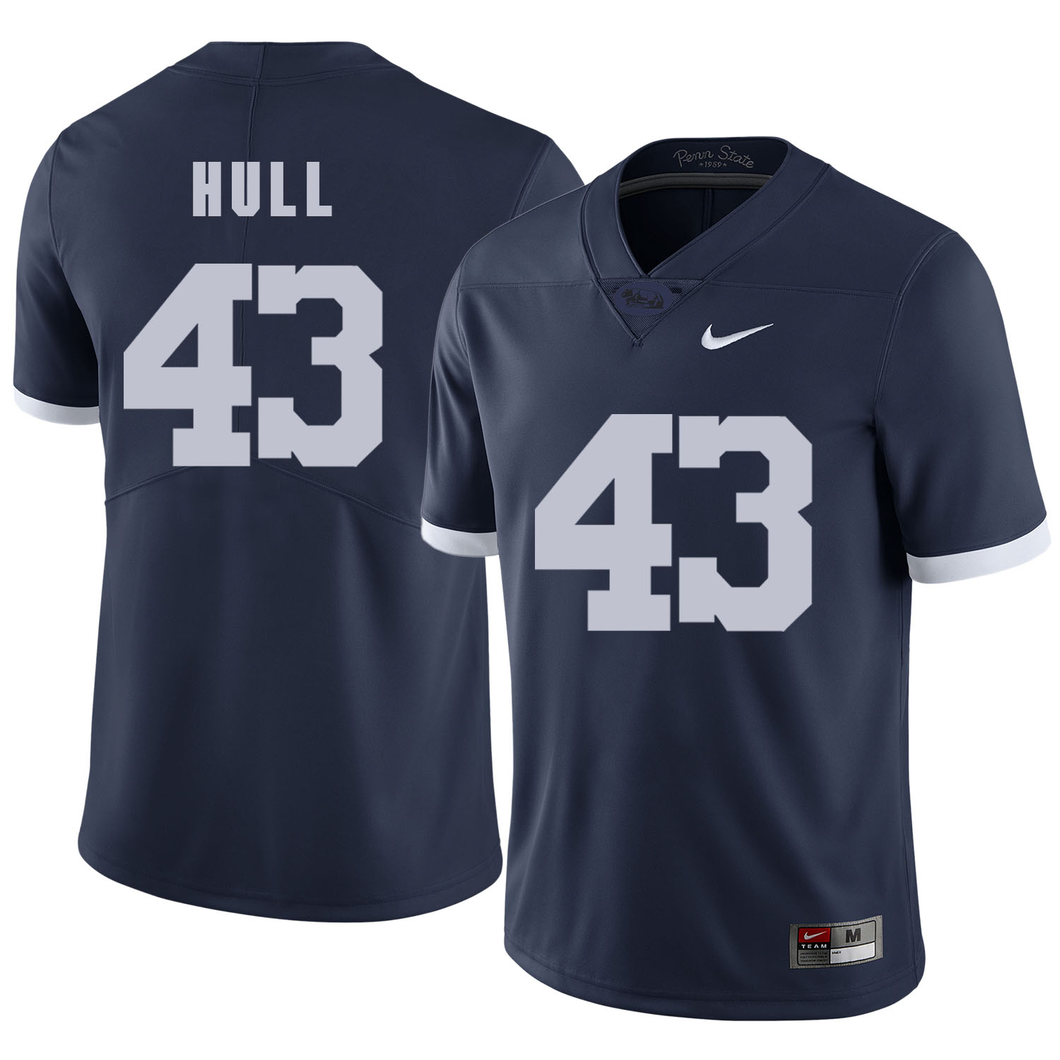 Penn State Nittany Lions 43 Mike Hull Navy College Football Jersey