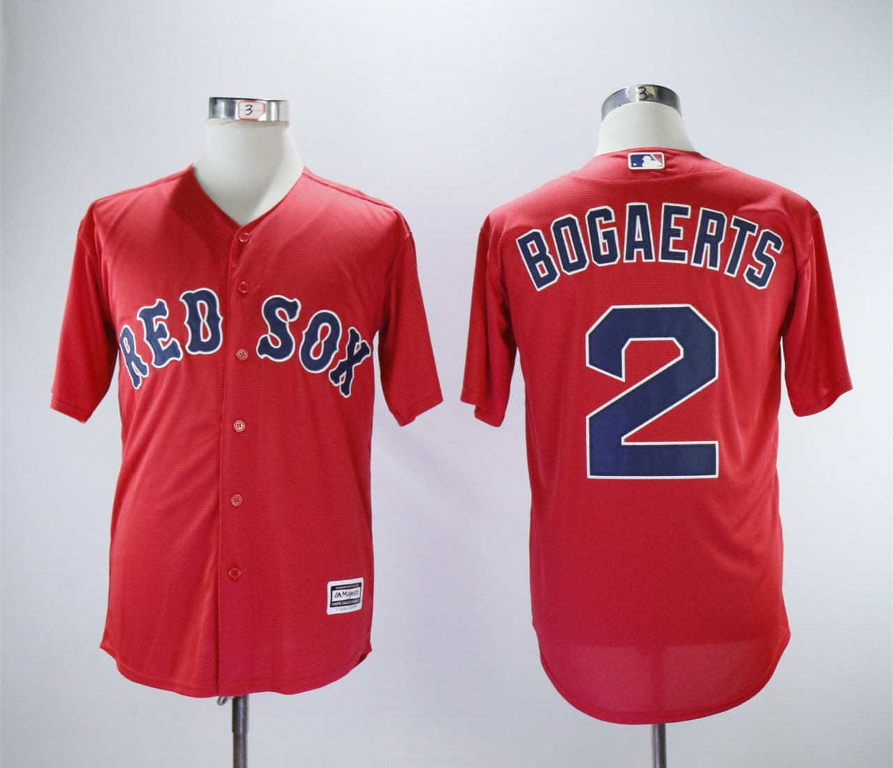 Red Sox 2 Xander Bogaerts Red Cool Base Jersey