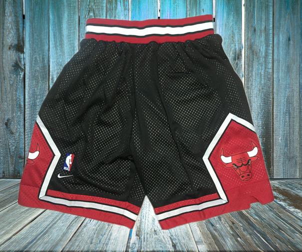 Bulls Black Nike Mesh Shorts