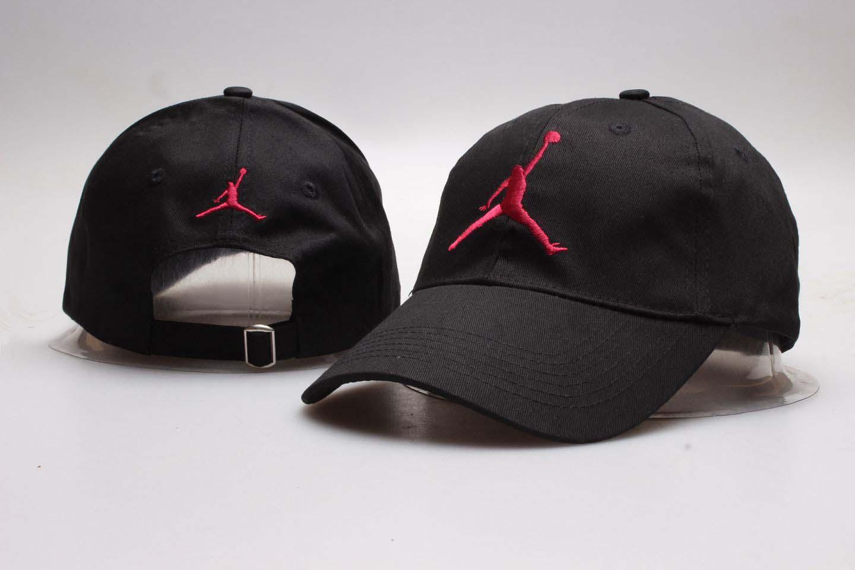 Air Jordan Black Fashion Peaked Adjustable Hat YP