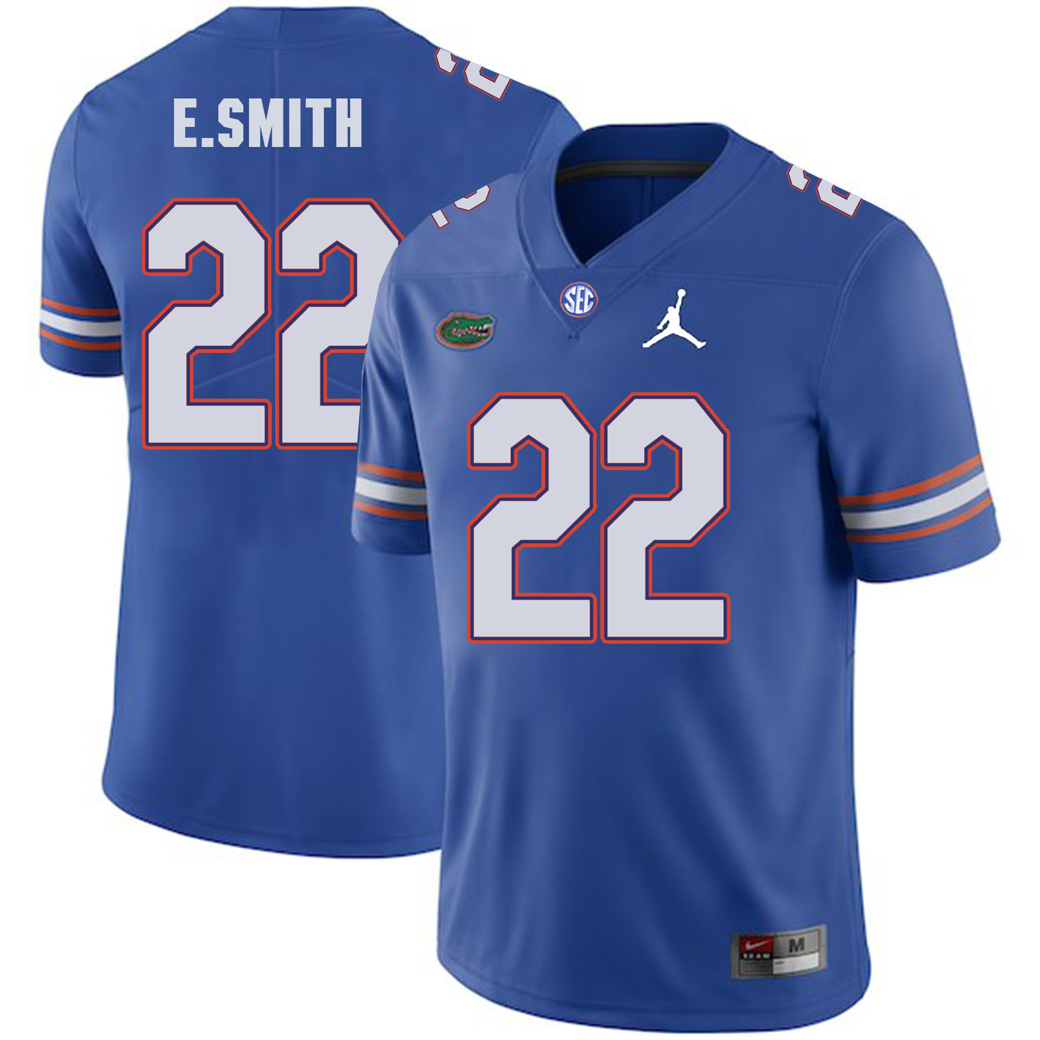 Florida Gators 22 Emmitt Smith Blue College Football Jersey